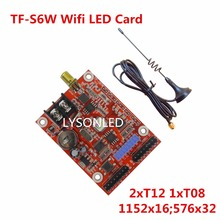 LYSONLED 2017 Speical offer 5pcs/lot LongGreat TF-S6W Mobile Phone WIFI LED Controller, P10 LED Display Controller Card