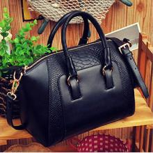 6 colors Women Lady Satchel Crossbody Bag Shoulder Bag Leather Tote Handbag Purse