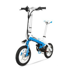 tb31110/Lithium electric bike / 14 inch / ultra-light hidden lithium battery / adult bike electric car/Aerospace aluminum frame(China)
