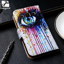 Painted PU Leather Cases For Samsung Galaxy Star Advance G350E 4.3 inch Cases Covers Card Holders Phone Bags Wallet Flip Holster