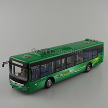 1:43 Yutong ZK6125CHVPG4 Rectrl Hybrid Electric City Bus High Simulation Alloy Toy Bus Models Passenger Station Wagon Diecast