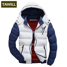 TAWILL Fashion Men Jackets Coats Autumn Casual Winter Jacket Men 2017 New Brand Clothing Asian size 78(China)