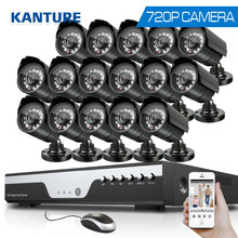 16Channel AHD HDMI 1080p dvr system 16pcs 720P 1200tvl outdoor security Surveillance camera kit 16ch 1080P NVR DVR USB 3G WIFI