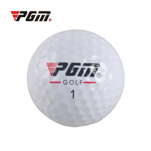 5 Pcs PGM Outdoor Sport Golf Ball Game Training Match Competition Rubber Ball For Golf Three Layers High Grade Golf Balls White