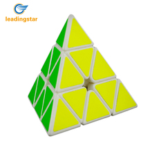 MoYu Magnetic Magic Cube Pyramid  Speed Cube Puzzle Learning Education Toys For Children Kids Gifts