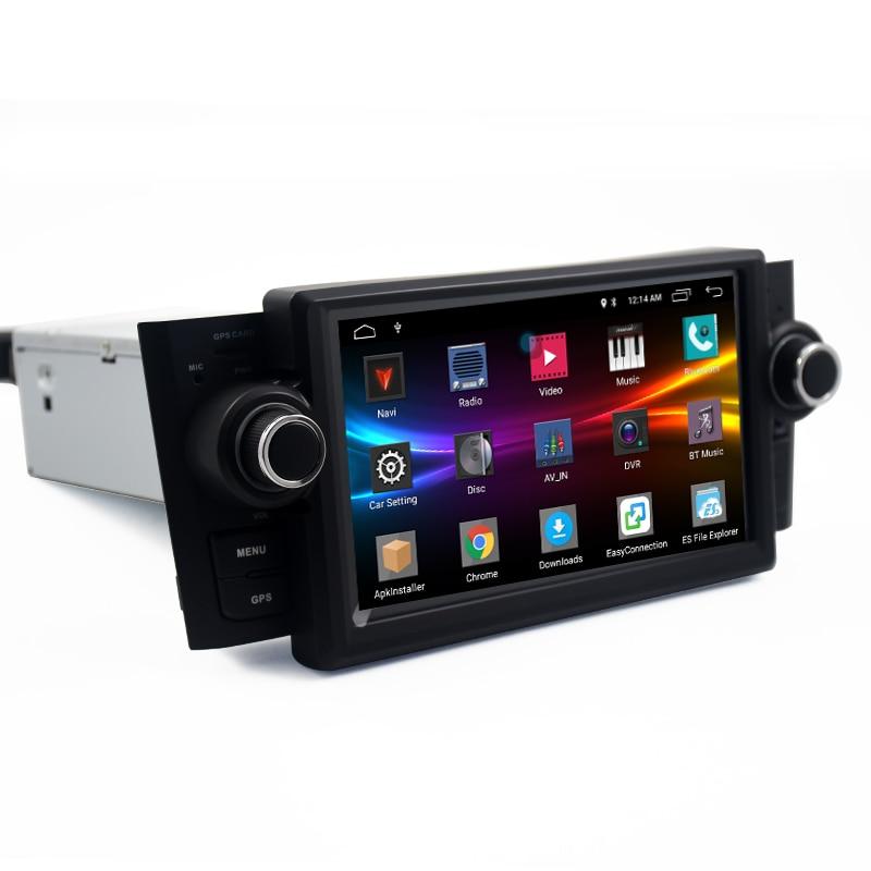 Car Multimedia player GPS Android 7.1.1 Car Radio 1 Din DVD Automotivo For FiatGrandePuntoLinea 2007-2012 Radio FM DSP steering