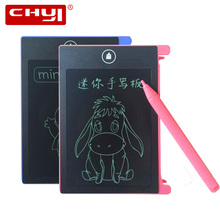 CHYI 4.4 inch LCD Writing Tablet Mini Portable Digital Drawing Electronic Handwriting Pads Message Memo Graphics Whiteboard