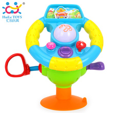 Baby Educational Toys Driving Steering Wheel Baby Driver Music and Lights Child Early Learning Kids Toy Simulation Car Xmas Gift