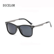 DICELOR Classic Brand Retro Sunglasses Men Polarized Glasses Women Vintage Sun Glasses For Man Driving Glasses gafas Unisex(China)