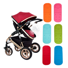 2017 New Arrival Pushchair Car Auto Seat Breathable Cotton Cushion Stroller Accessory Baby Buggies Dining Chair Padding(China)