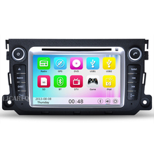 "7"" Touchscreen Car DVD Player for Mercedes Benz Smart Fortwo 2011 2012 2013 Car radio stereo gps with Bluetooth 3g wifi free map"