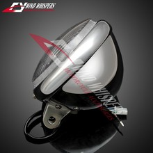 Cruise Motorcycle chrome Modified metal Headlamps Front Headlight For Honda Steed 400 600 Magna 250 750 Shadow 400 750