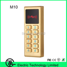 4pcs/lot M10 RFID card EM card standalone access control IP65 wiegand access controller with keyboard can works as card reader