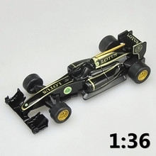 High simulation supercar,1:36 scale alloy pull back Lotus F1 racing car LOTUS T125 cars,Collection metal model toy,free shipping(China)