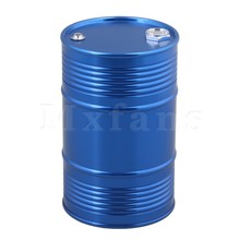 Mxfans 6 x 9.4cm Blue Color FZ0001 Oil Drum Fuel Tank Container for RC1:8 1:10 1:18 Climbing Rock Crawler(China)
