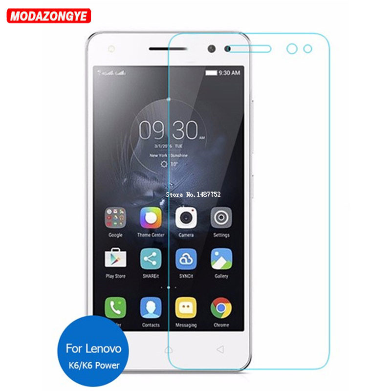 2pcs Tempered Glass Lenovo K6 Screen Protector Lenovo K6 Power K33a42 Tempered Glass Lenovo K6 K33a48 Glass Protective Film