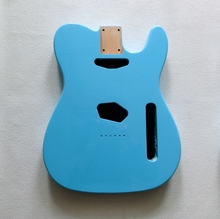 Sell DIY guitar parts Alder guitar body Nitro satin finished Sonic blue TL  guitar body