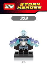 XH 329 Single Sale Super Heroes Star Wars Electro Man White Tiger Sandman Building Blocks Bricks Children Gift Toys - Minifigures store