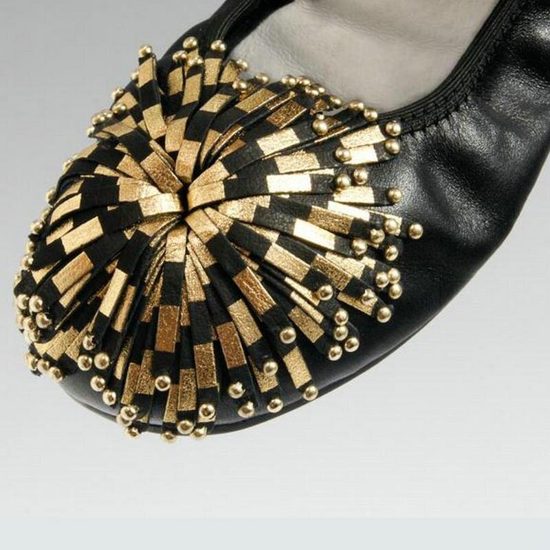 Women Shoes Flats Genuine Leather Women's Moccasins Tassel Slip On Female Footwear Pink Black Loafers Soft Leisure Ballet Flats (19)