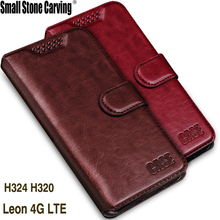 Buy Luxury Retro Flip Case LG Leon 4G LTE H340N Leather + Soft Silicon Wallet Cover LG H320 H340 H324 c40 Case phone Coque for $3.28 in AliExpress store