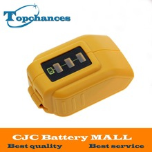 High Quality New DCB090 12V/20V Max USB Power Source for Dewalt Cordless Power USB Charger(China)