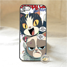 Grumpy Cat Quotes I Had Fun It Was Awful 4 mobile phone case cover for iphone 4 4S 5 5S 5C SE 6 plus 6s plus 7 7 plus *ke60