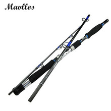 Mavllos Japan Guide Lure Weight 70-250g Sea Boat Jigging Fishing Rod 2.1M 3 Sections Carbon Fiber Saltwater Spinning Fishing Rod(China)