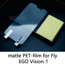 Glossy Lucent Frosted Matte Anti glare Tempered Glass Protective Film On Screen Protector For Fly IQ452 Quad EGO Vision 1