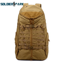 Outdoor Sports Cycling Waterproof Durable Molle Backpack Tactical Assault CS Combat Game Multifunctional High Capacity Knapsack
