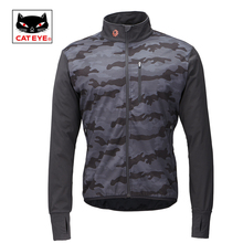 Cateye Cycling Jackets Bicycle Water Resistant Coat Windproof Keep Warm Sportswear Jacket Spring Autumn Winter Bike Clothing(China)