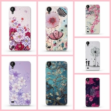 Luxury Printed Silicon Case For HTC Desire 530 Capa 3D Flower Paint Back Cover For HTC 530 Phone Case Soft TPU Cover Bag