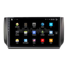 NaviTopia Brand New 10.1inch Quad Core Android 6.0 Car PC For Nissan New Sylphy(2012) Car Audio Player With GPS Navigation(China)
