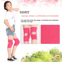 1 Pair High Quality Dancing Rodilleras Children Sports Cycling Basketball Knee Pads Outdoor Knee Support