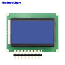 Graphic LCD 12864 display, BLUE color with LED Backlight, rezolution 128x64