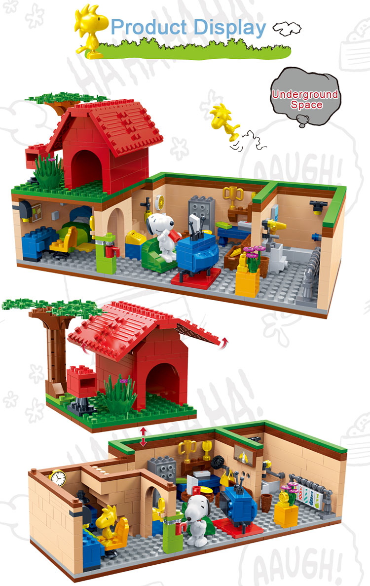 BanBao 7503 Housewith Underground Space Building Blocks 23