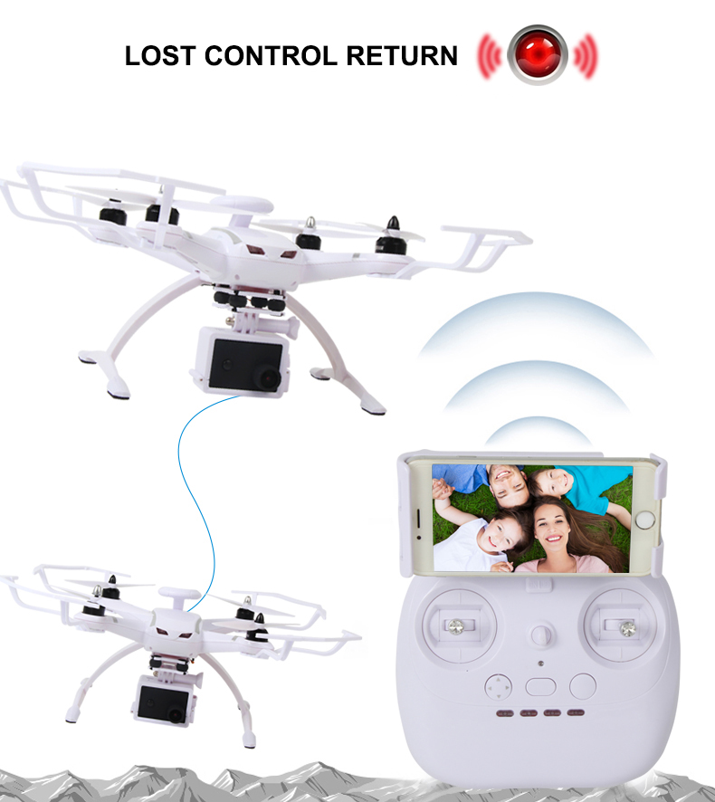 AOSENMA CG035 RC Helicopters WIFI Drone with Camera HD 1080P Quadcopter Gimbal GPS Brushless Motor Follow Me Mode -3