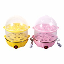 Multi-functional Electric Eggs Boiler Double-Layer Egg Boiler Cooker Steamer Home Kitchen Use 220V Cookware