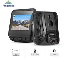 DAB211 Ambarella A12 Car DVR 2560 x 1440 Super HD G-sensor Dash Cam Hidden Car Camera ADAS GPS WDR Night Vision Video Recorder