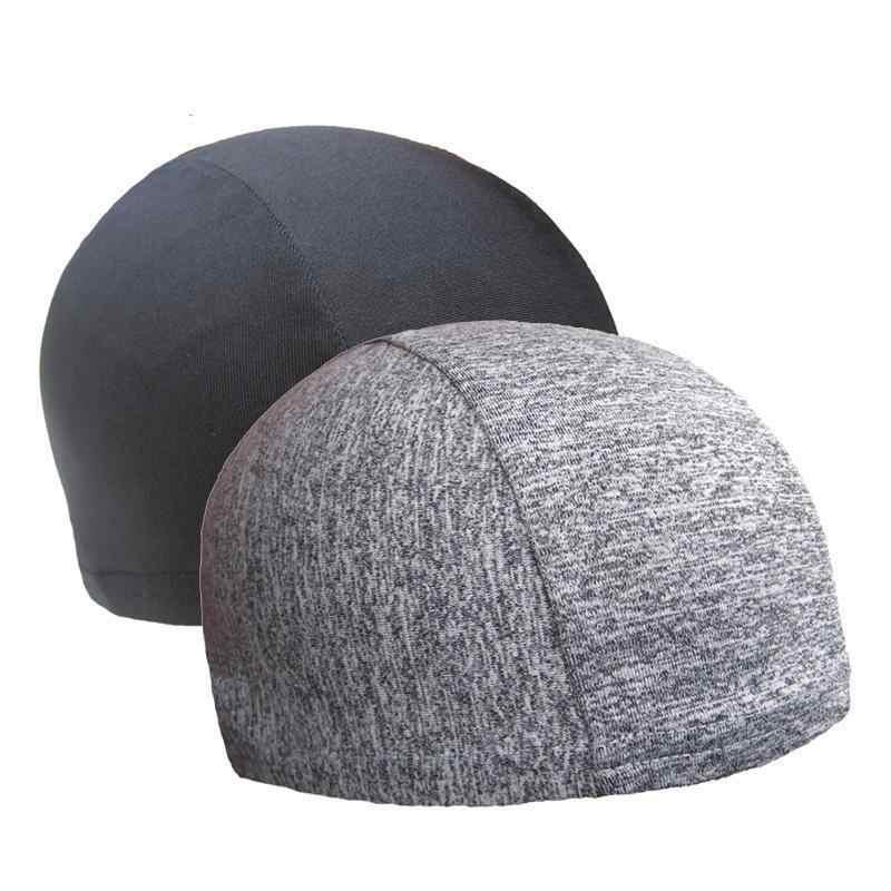 BTLIGE Dome Cap Helmet Liner Biker Beanie Hat Bandanas Turban Hats Riding  Hiking Motorcycle Head Wrap c585bf8817d