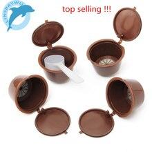 4 шт./упак. кофе капсула использовать 200 раз многоразового Dolce Gusto Nescafe Dolce Gusto многоразовые капсулы Dolce Gusto капсулы(China)