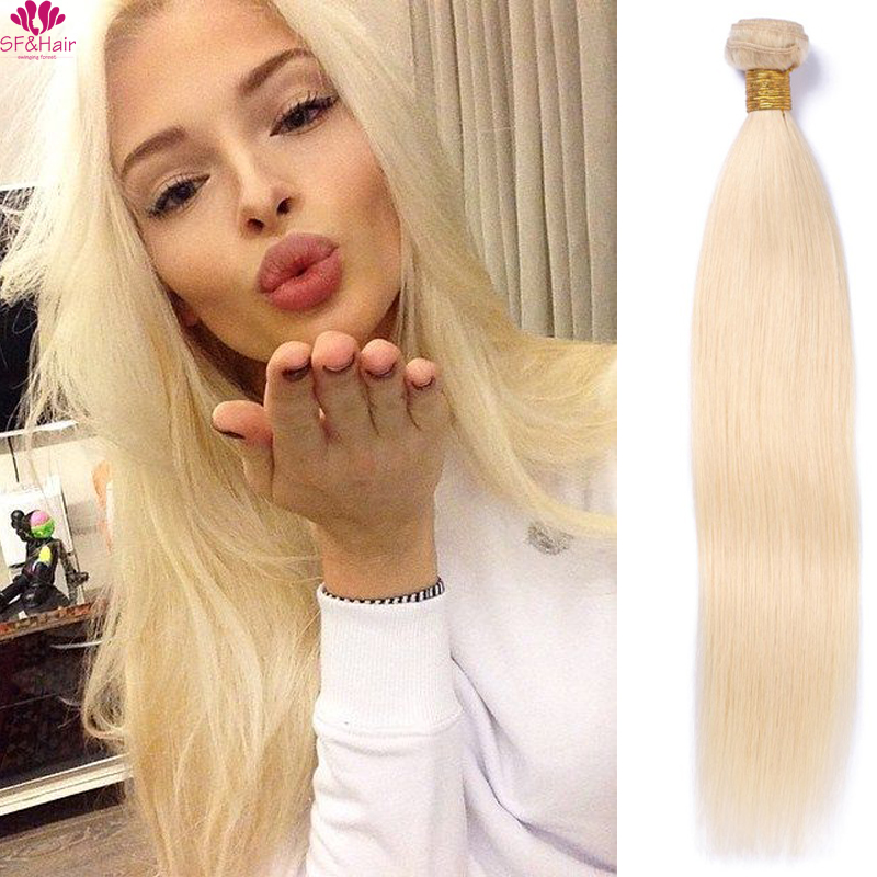 Grade 8A 613 Blonde Brazilian Hair 3 Bundles Straight Human Hair Extensions Wet And Wavy Honey 613 Blonde Brazilian Hair Weaves<br><br>Aliexpress