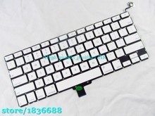 A1342 US layout keyboard For Macbook Pro 13'' Unibody MC207 MC516 US Keyboard