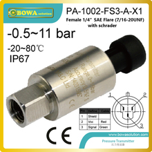 high quality and stablity pressure transmitter used in flat water supply system and hydraulic controls(China)