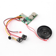 Kid Adult Sound Recordable Voice Module For Greeting Card Music Sound Talk Chip Musical Christmas Gift