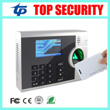 3inch color screen linux system fingerprint and RFID card EM card time attendance clock recorder TCP/IP fingerprint reader