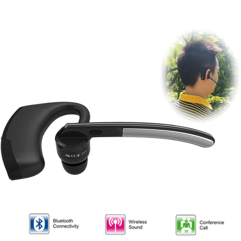 Bluetooth handsfree headset wireless bluetooth headphone earphone noise cancelling business earphone with microphone for driving<br><br>Aliexpress