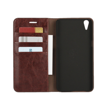 Deluxe Wallet Case For OPPO F1 Plus / OPPO R9 Genuine Cow Leather Case OPPO F1 Plus Flip Cover Phone Bags