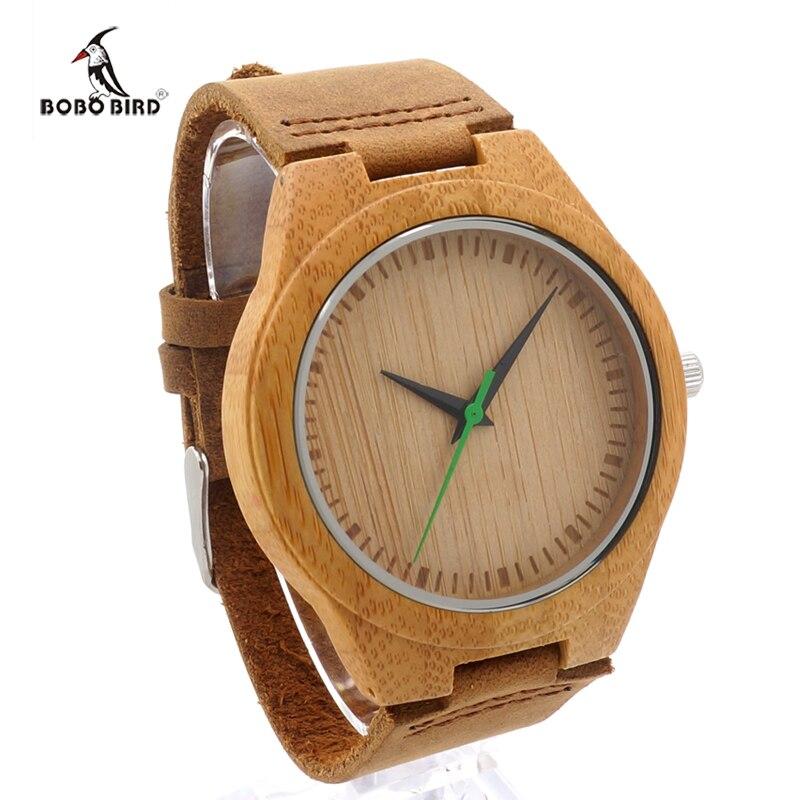 BOBO BIRD 2017 Wood Mens Watches Luxury Brand Bamboo Watch Quartz Casual Fashion Men Wristwatches Clock relogio masculino<br><br>Aliexpress