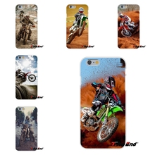 For Samsung Galaxy S3 S4 S5 MINI S6 S7 edge S8 Plus Note 2 3 4 5 Dirt Bikes motorcycle race Moto Cross Soft Silicone Case