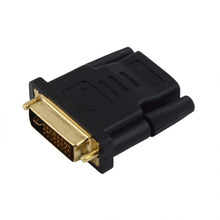 Easily converts between DVI and HDMI components DVI Male to HDMI Female adapter Gold-Plated NEW M-F ConverterHot New Arrival